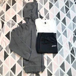 Mens' Athletic Bundle Size Small (Nike, Asics)